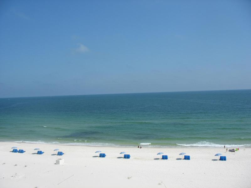 Beach From Balcony - Palacio - Perdido Key - rentals