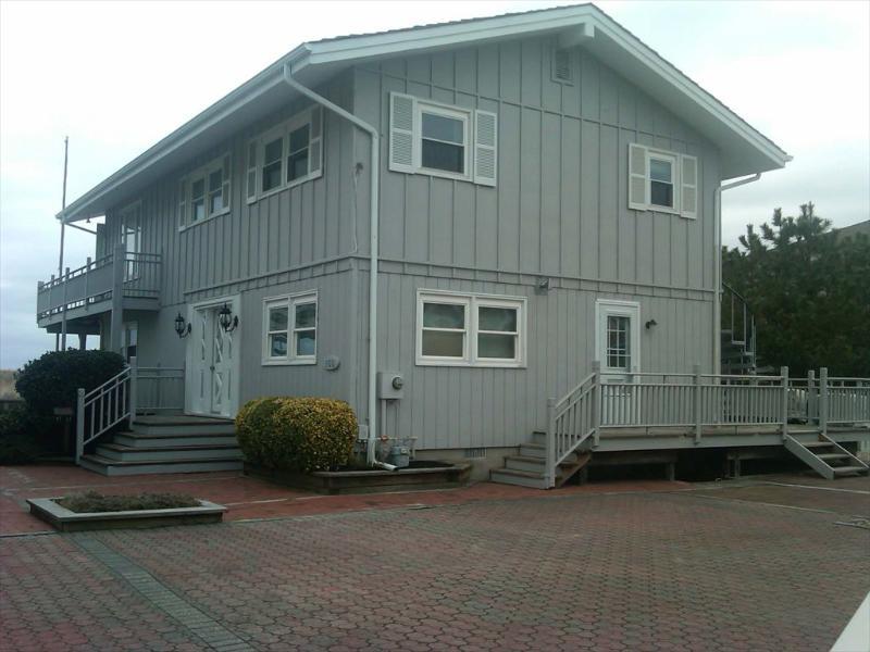 166 63rd St. Avalon NJ 08202 Beach Front Exterior View - 166 63rd Street in Avalon, NJ - ID 566237 - Avalon - rentals