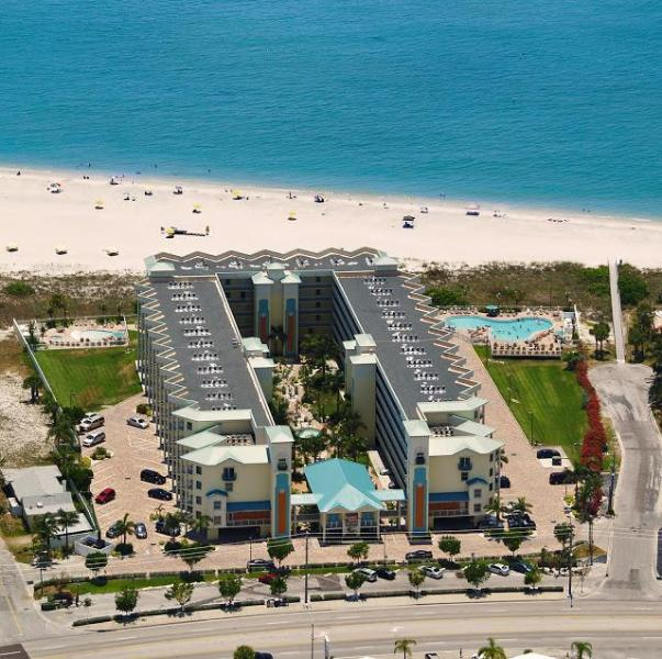 Beachfront Suites Treasure Island FL Gulf Resort - Image 1 - Treasure Island - rentals