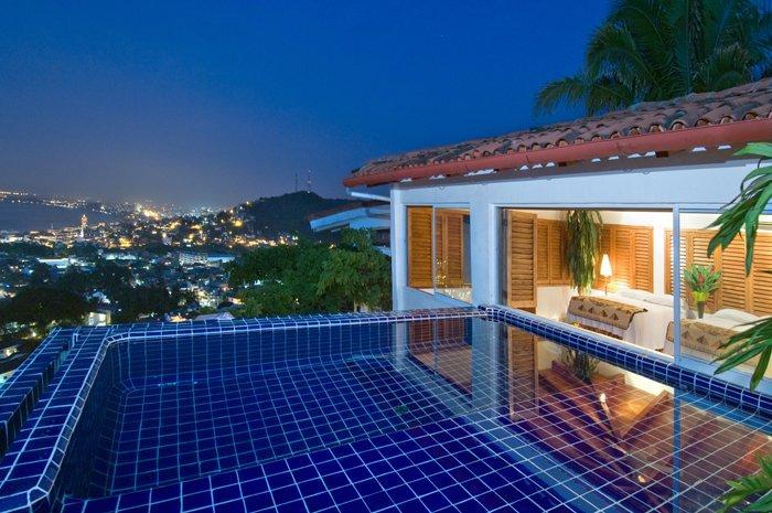 Your own private infinity plunge pool - Casa Ventana - Puerto Vallarta - rentals