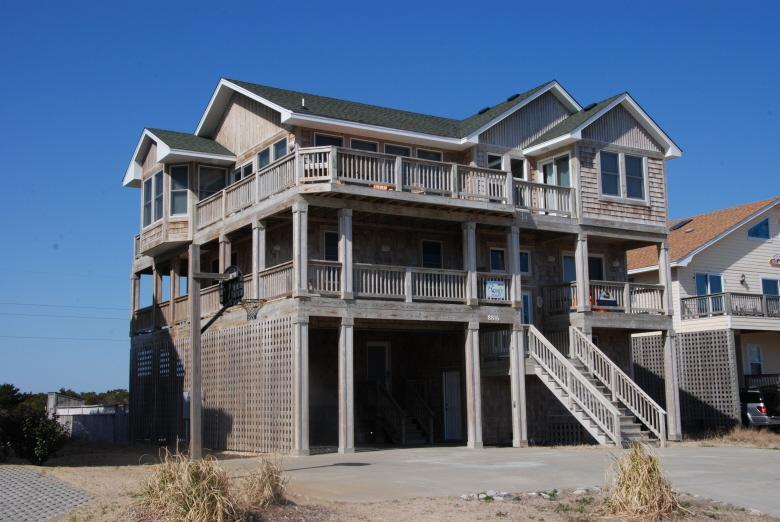 Semi-ocean front private pool great ocean & sound views. SNH15 - Image 1 - Nags Head - rentals