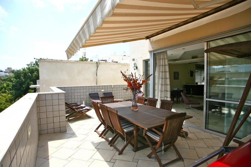 terrace - Luxury Apartment/penthouse 160 m² - TEL AVIV - Tel Aviv - rentals