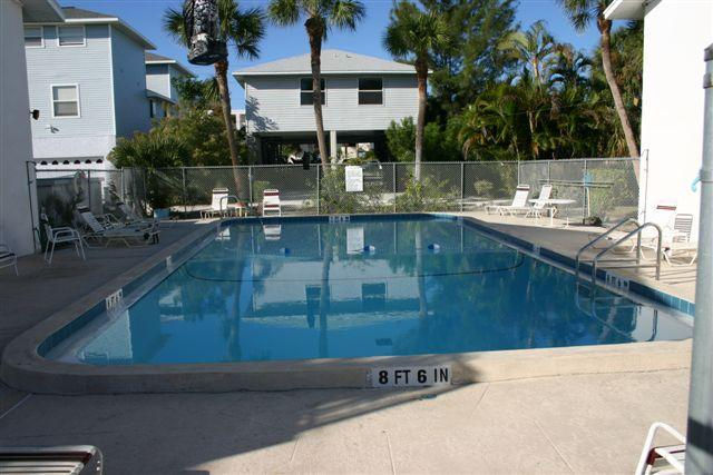 Pool - AMI Island Living -Walk to Beach-Ground Level Unit - Bradenton Beach - rentals
