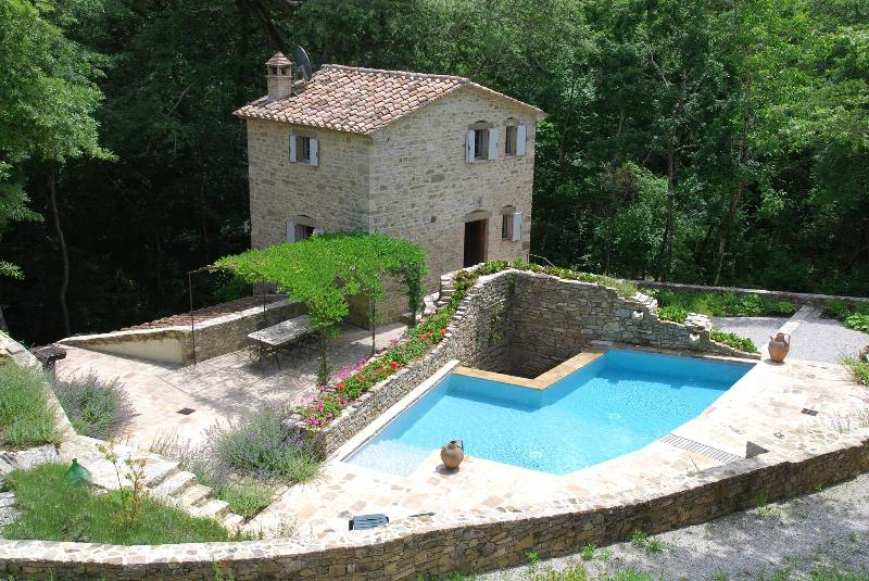 Mill - Water Mill and Millers House Rental in Cortona - Cortona - rentals