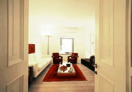 Spanish Steps Apartment w/ Modern Design in Historic Palazzo in Rome - Image 1 - Rome - rentals