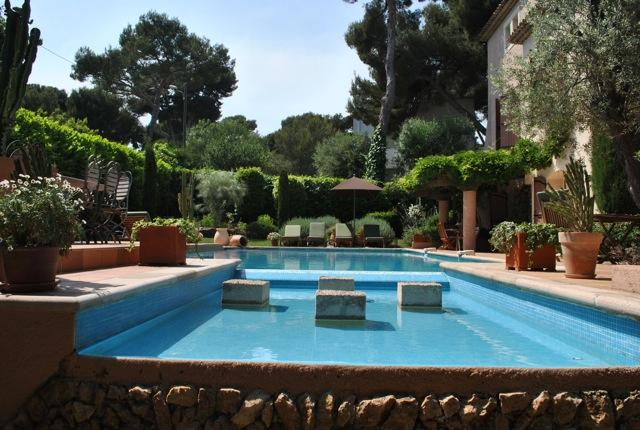Cap d'Antibes: French Riviera Villa with Pool and Sea Views - Image 1 - Antibes - rentals