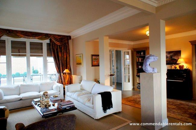 In Paris's Elegant 7th Arrondissement,  Luxury 2 Bedroom, 2 Bathroom, with Balcony and great Views - Image 1 - Paris - rentals