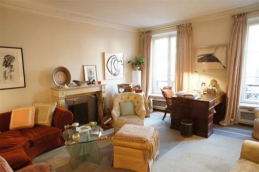 In the heart of Paris, Charming  Apartment in the Marais with Terrace and Fireplace, sleeps 4 - Image 1 - Paris - rentals