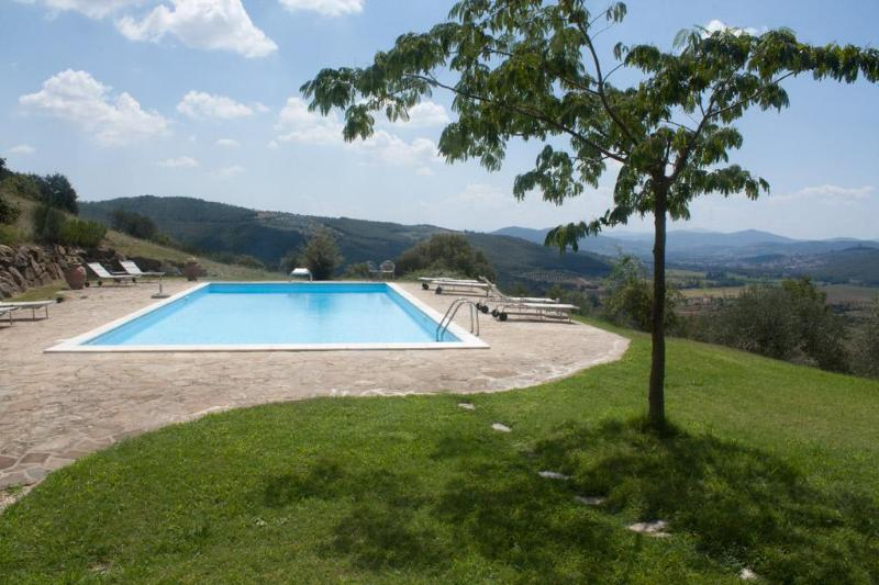 pool - A unique house in Umbria, Casa la Bastia - Passignano Sul Trasimeno - rentals