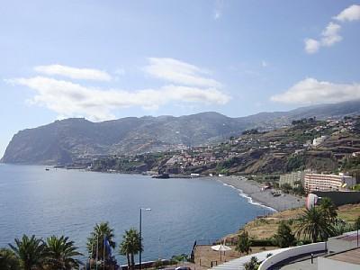 Balcony View - Beach Front Apartment -Lido Promedade at main door - Funchal - rentals