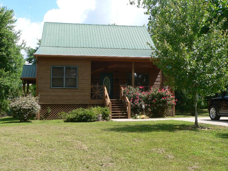 Choestoe Village Luxury Cabin - Charming NEW Luxury with River Access - Blairsville - rentals
