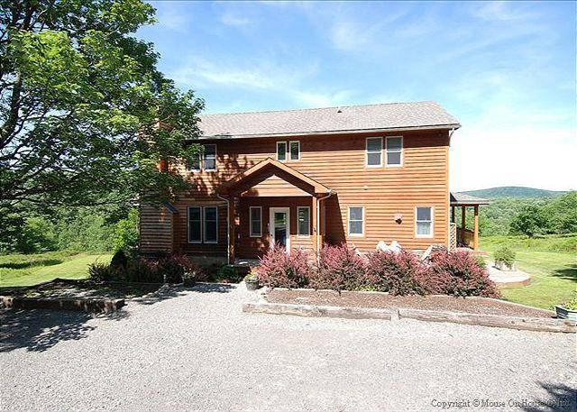Views, views and more views from this one of a kind mountain home! - Image 1 - Davis - rentals