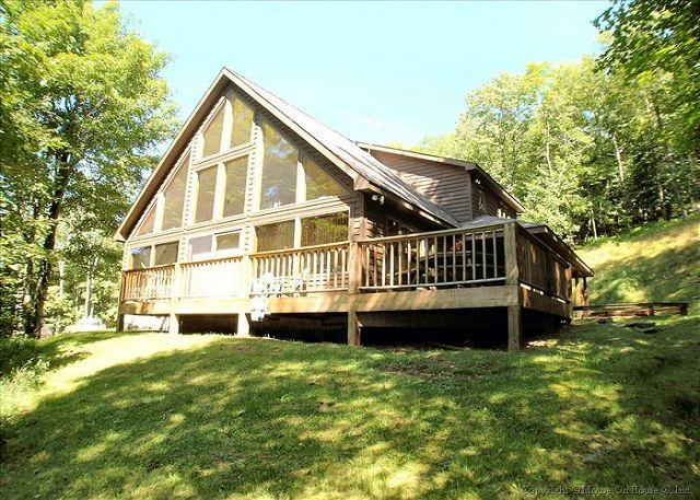 Two stories of comfort-15 Acres of Privacy.  No wonder the eagle landed here! - Image 1 - Davis - rentals