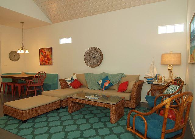 Spacious 3 bedroom 2 bath coastal cottage at  Pirates Bay!  Just a short driv - Image 1 - Port Aransas - rentals