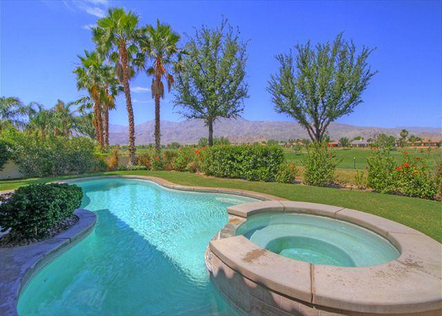 Pool & Spa with a view - Amazing Mountain & Golf Course View from your Vacation Retreat Home - La Quinta - rentals