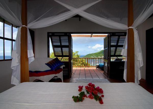 2 bedrooms, 2 bathrooms, pretty vacation villa, w/ pool, wonderful ocean views, beautiful gardens, 10 minutes to beach. (v) - Image 1 - Saint Vincent and the Grenadines - rentals