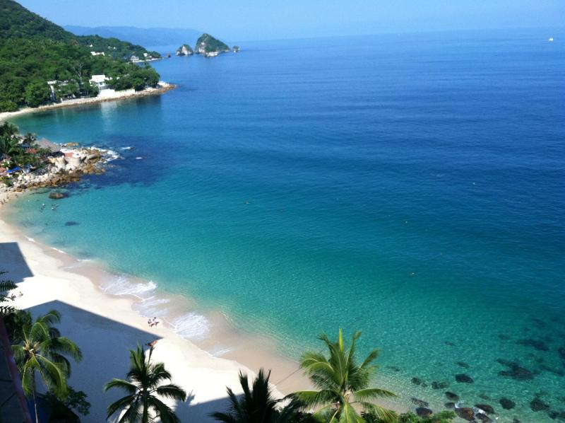 Spectacular view of our secluded beach - Exclusive, romantic paradise on the best beach! - Puerto Vallarta - rentals