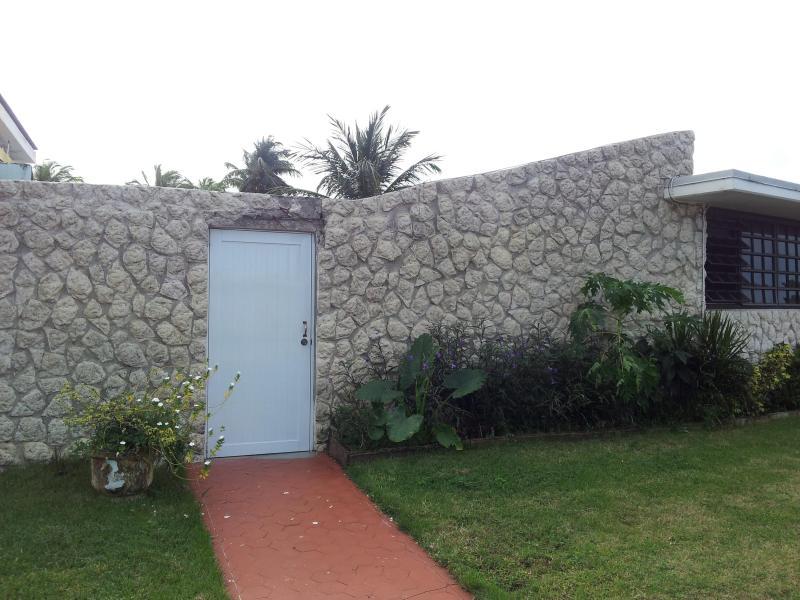 Studio apt entrance front left building - Large Studio #3,Safe  Clean Near airport & beaches - Carolina - rentals