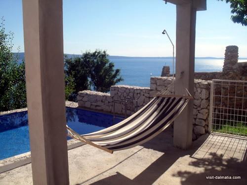 Pool side view - Villa Andrea - Sumpetar - rentals