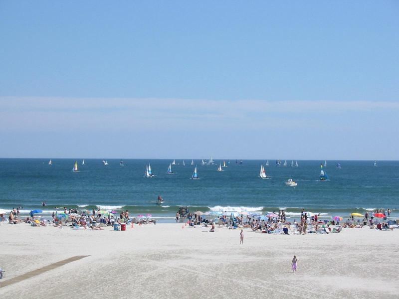 View from Balcony - Monterey Beachfront Condo/ Directly on the Beach - Wildwood Crest - rentals