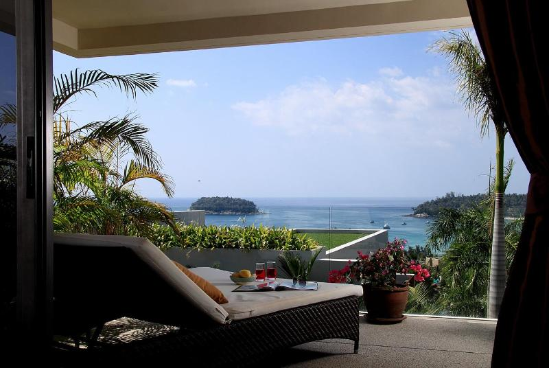 Gorgeous seaview 2 bedroom apartment (THB22) - Image 1 - Kata - rentals