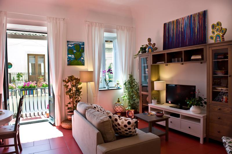 the living room - Apartment in the heart of Taormina - Taormina - rentals