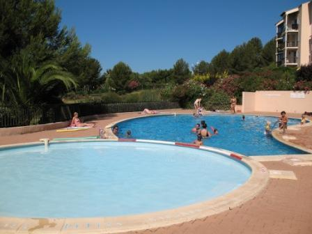 2 bedrooms flat, swimmingpool, seaside, see view - Image 1 - Six-Fours-les-Plages - rentals