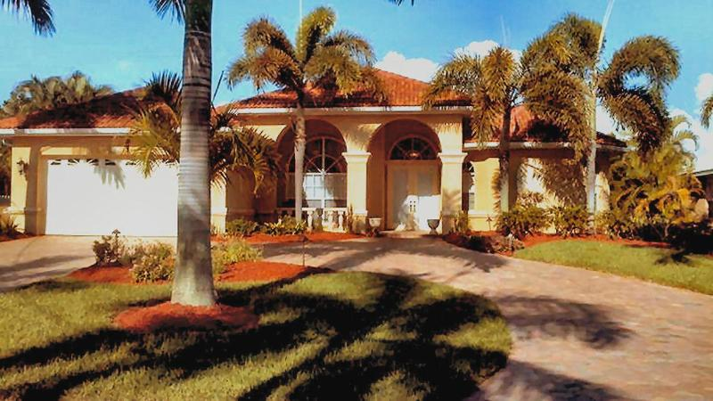 Villa Bliss Front - Bliss Vacation Villa - Cape Coral - rentals