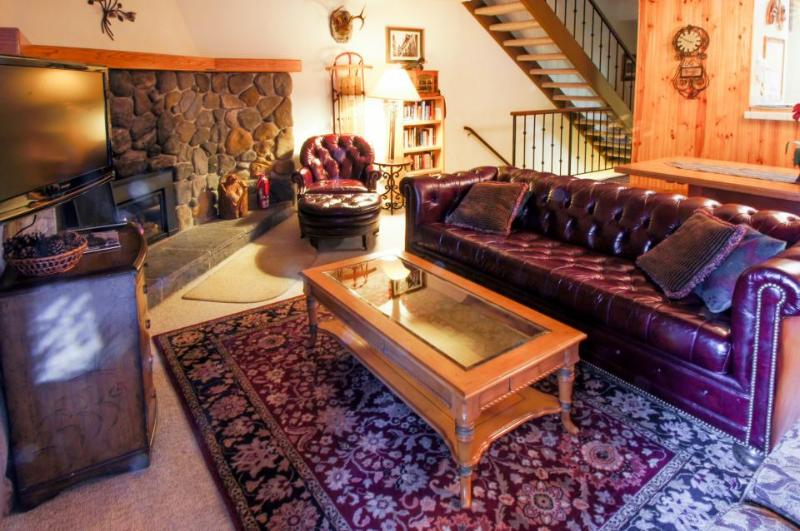 Rustic vintage condo w/shared pool, hot tub, tennis, & bocce - Image 1 - Carnelian Bay - rentals