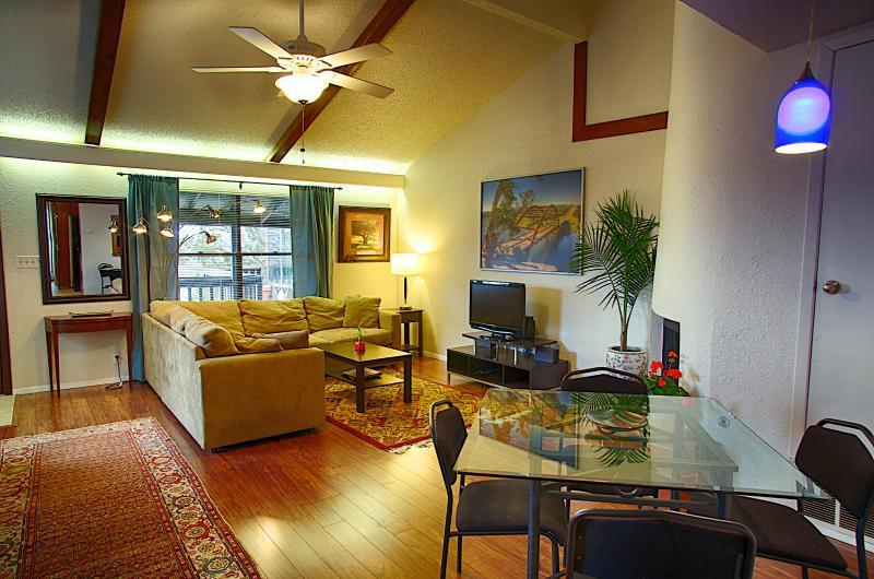 Living area - Barton Hills Abode 2/2 Sleeps 6 - Austin - rentals