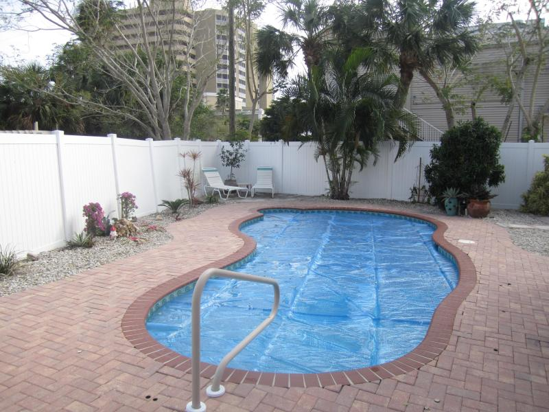 Pool - Bay view  home with pool; North Island - Fort Myers Beach - rentals