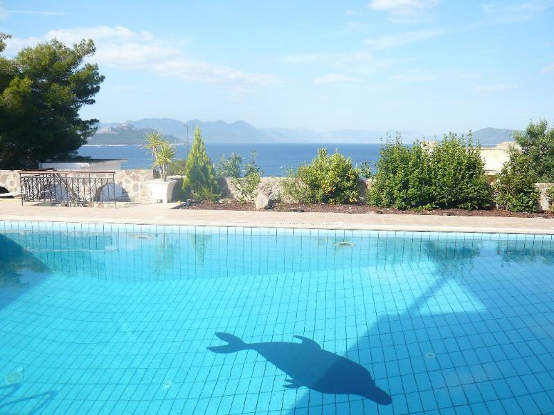 Sea Views Rose Garden Studio - Image 1 - Aegina - rentals