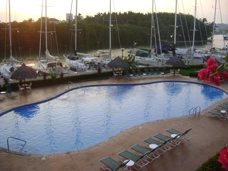 View from balcony - Paradise Village Marina Residence - Nuevo Vallarta - rentals