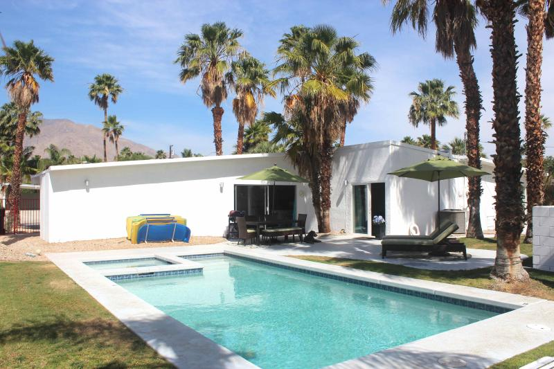 House comes with pool floats, BBQ and outdoor games - Sleek & Sexy Mid-Century with View, Bikes, Hot Tub - Palm Springs - rentals