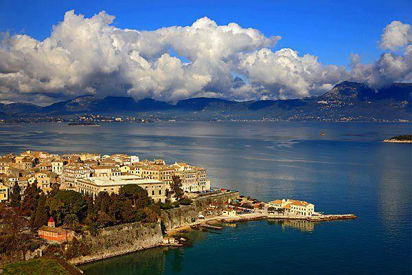 Corfu town - Andromaches Holiday Apartment Sea view apartmen 3P - Corfu - rentals