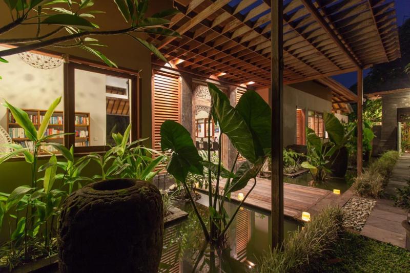 3 BR Umah Wa Ke River View Villa in Canggu - Image 1 - Canggu - rentals