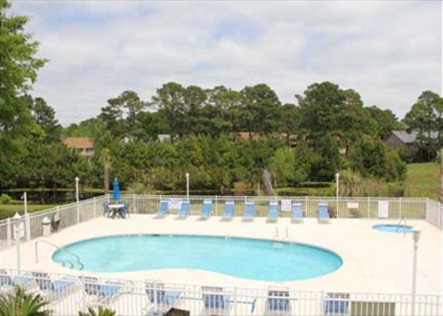 Balcony overlooking Pool - You will love this cute Golf Colony Resort Villa!- 13B - Surfside Beach - rentals