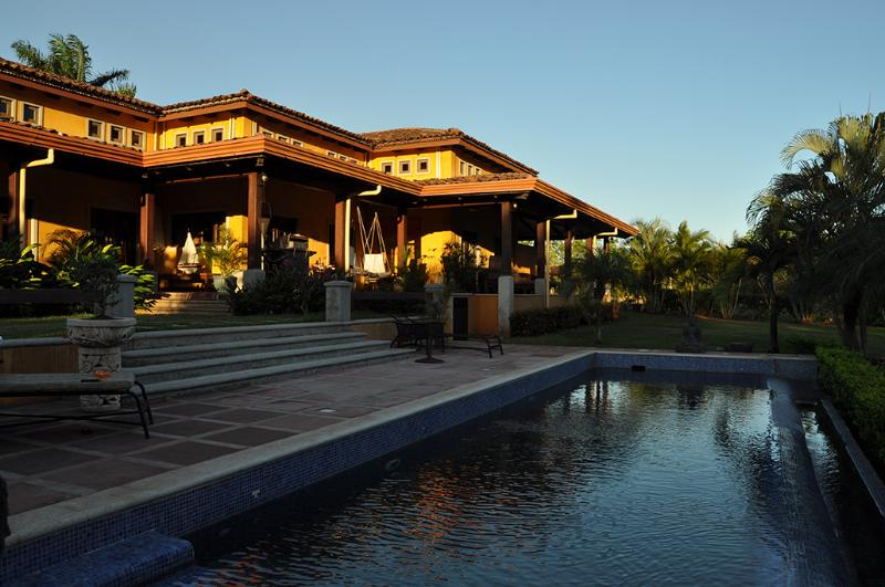 outside pool, view - Villa at the Beach in Hacienda Pinilla, Tamarindo - Tamarindo - rentals