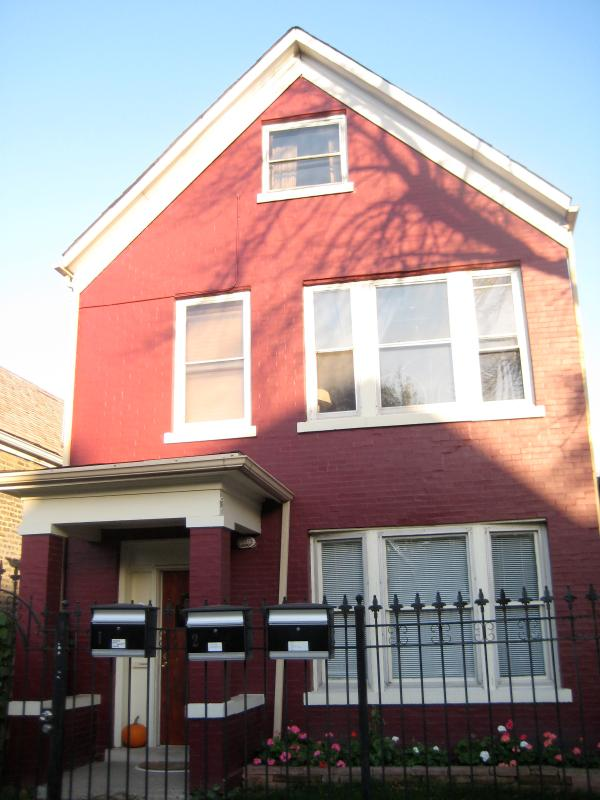 Front of building - Private Apartment, Near White Sox & Midway Airport - Chicago - rentals