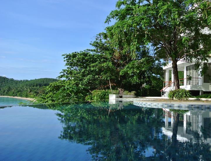 Villa Overview - Bann Sanehchandra : 4 bed rooms ocean front villa - Ko Sire - rentals