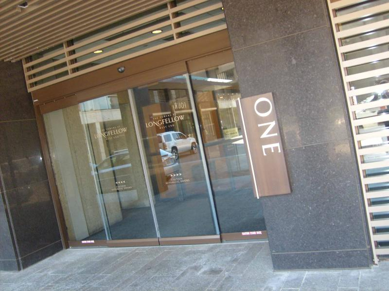 Entry to building - West End One Bed: 12th Floor with Balcony & Views - Boston - rentals