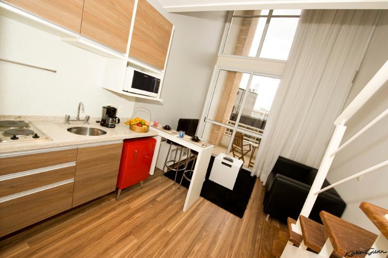 Contemporary Studio Loft With Spectacular View - Image 1 - Sao Paulo - rentals