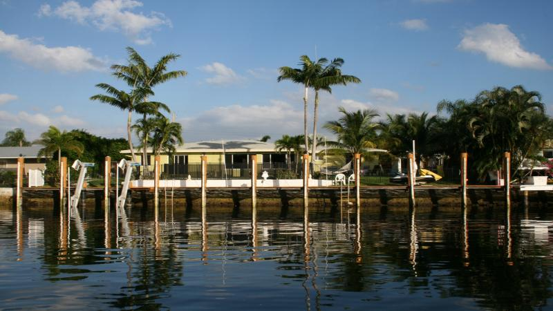 Waterfront, private pool, canoe, dock. Near beach. - Image 1 - Boca Raton - rentals