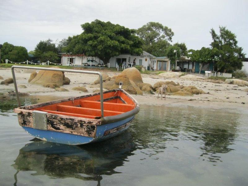 VIEW FROM THE OCEAN - Piccolo Villa - Saint Helena Bay - rentals