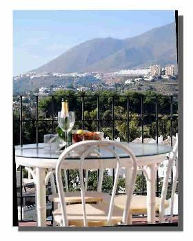 mountain view from Balcony - Apartment with Sea and Mountain views - Benalmadena - rentals
