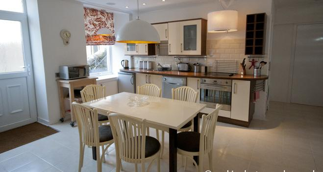 Open Plan Living Space - Crieff Armoury Luxury Self Catering Apartment - Keene - rentals