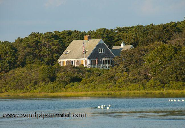 #484 Chappaquiddick waterfront property on Caleb's Pond - Image 1 - Chappaquiddick - rentals