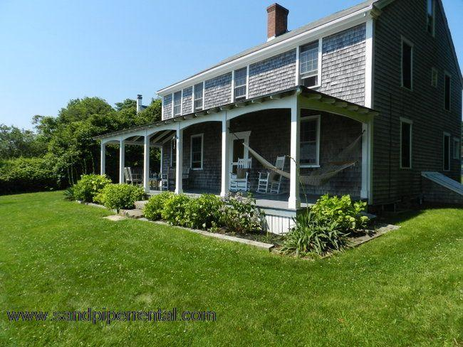 #929 Historic home offers expansive water views - Image 1 - Vineyard Haven - rentals