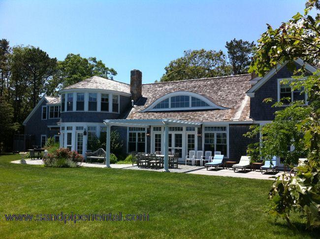 #977 Exquisite contemporary home w/ views of Vineyard Sound - Image 1 - Vineyard Haven - rentals