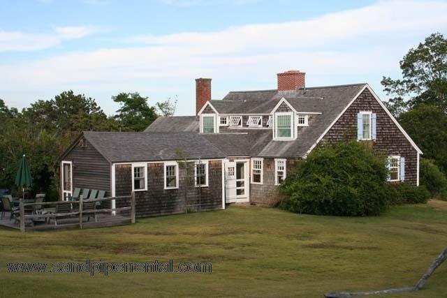 #2007 Quintessential Chilmark farm house on 12 acre estate - Image 1 - Chilmark - rentals